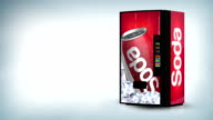 Soda vending machine video