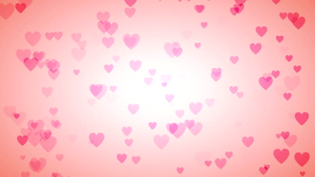 Soft Heart Background (Loopable) video