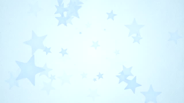 Soft Simple Stars Background Loops X3 - Blue (Full HD) video