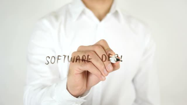 Software Design, Written on Glass video