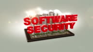 Software Security Text In The Digital City video