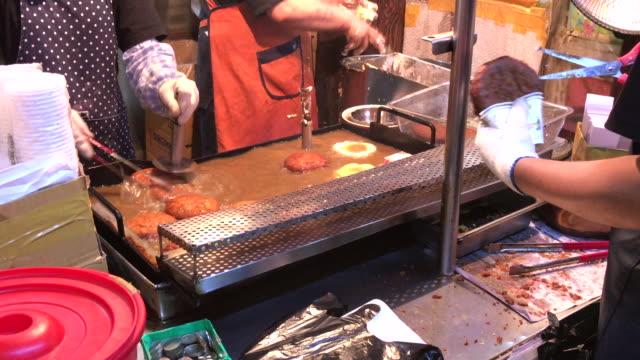 Sokcho street food , Rural town in South korea video
