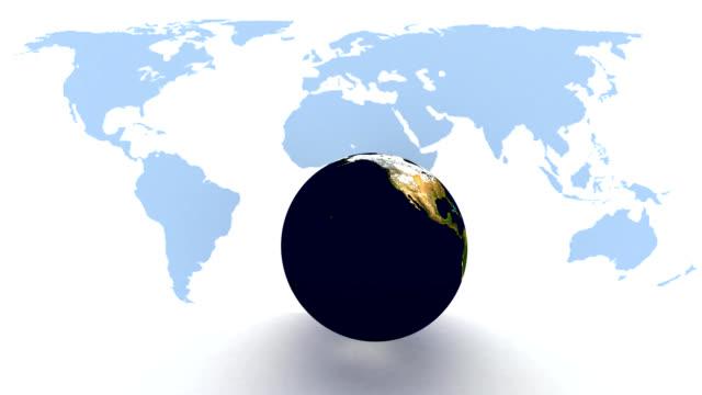 4K Solar Eclipse Animation video