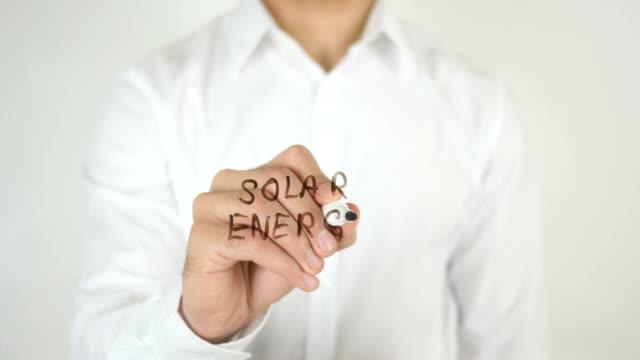 Solar Energy, Written on Glass video