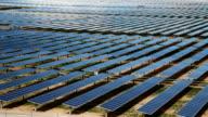 Solar Farm Time Lapse video