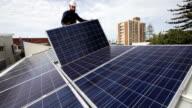 Solar installation video