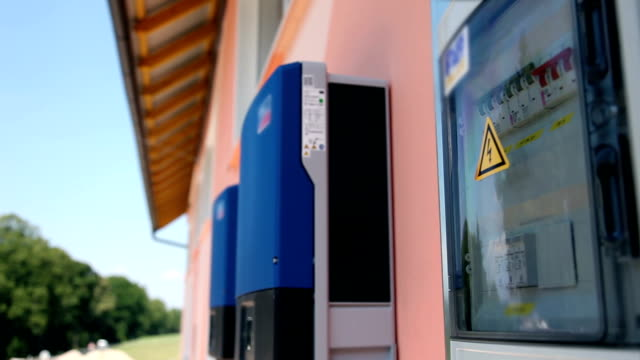 HD CLIP: Solar inverters video