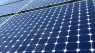 Solar Panel - CLOSE UP video