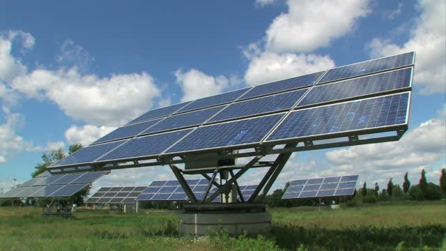 Solar Panels - Alternative energy + close up video
