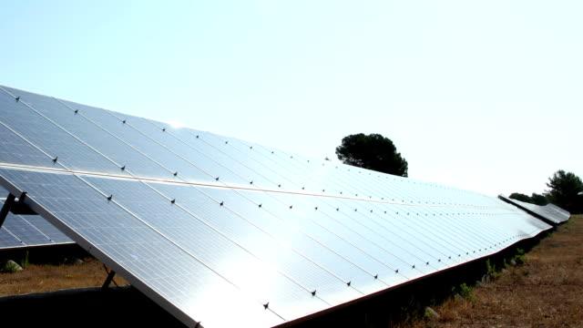 Solar Panels, Alternative Green Energy video