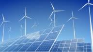 Solar Panels and Wind Turbines video