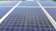 Solar Panels Collecting Sun Light Green Energy Nature video