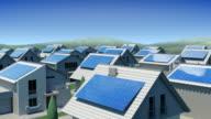 Solar Panels. video