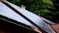 HD CLOSE UP: Solar panels video