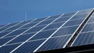 HD CLIP: Solar panels video