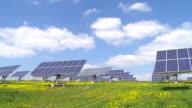 T/L Solar Park In Spring video
