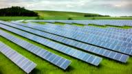 AERIAL: Solar Power Plant video