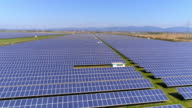 Solar Power Station At Sunny Day video