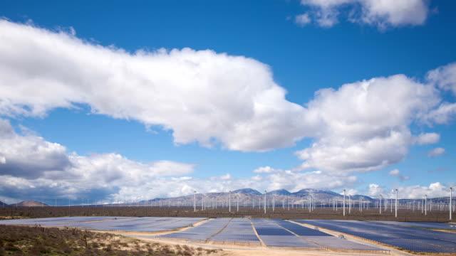 Solar Power Station in the Desert. video