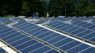 HD PANORAMA: Solar power station video