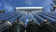 Solar water heater video