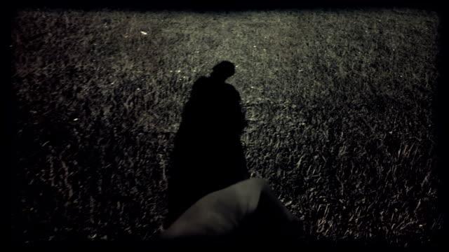 HD - WW2 Solder walking on open Field video