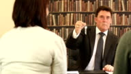 Solicitor / Estate agents handing over House Keys  - Dolly video