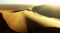 Solitude in the desert sands video