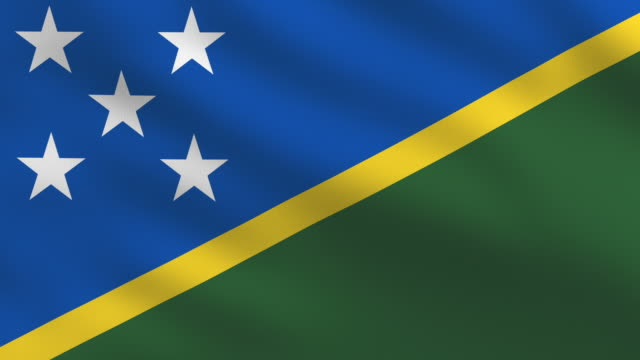 Solomon Islands Flag video