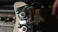 Somebody detuned bass guitar video