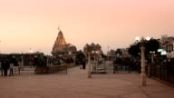 Somnath Temple at sunset video