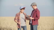 Son comes to Father in Field video