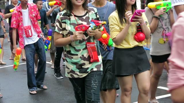 Songkran, Thai New Year Festival video