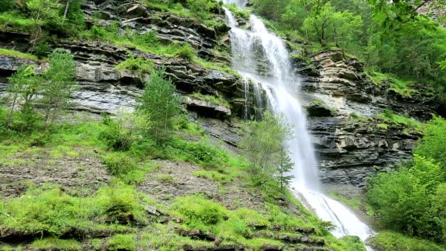 Sorrosal cascade Broto Huesca Pyrenees Huesca Spain video