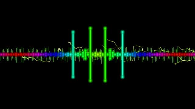 sound EQ Bar Waveform video