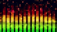 sound level meter equalizer loopable background video