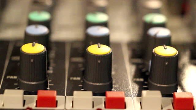 Sound mixer video