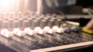 Sound Mixing Desk video