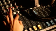 sound music mixer control panel video