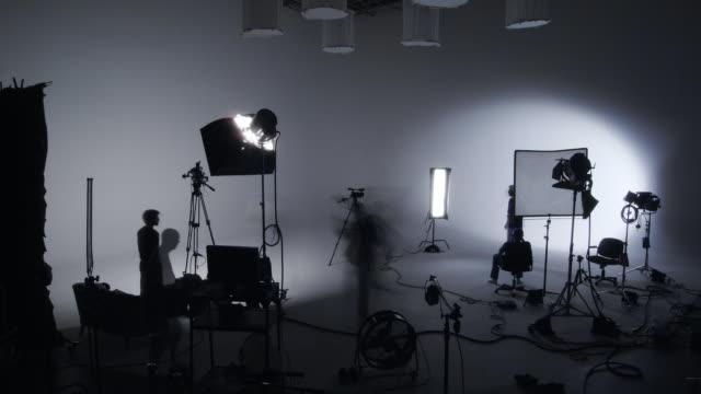 Soundstage shoot timelapse video