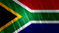 South Africa Flag Loopable Animation video
