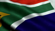 South Africa Flag video