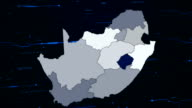 South Africa network map video