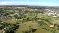 South Africa-Bloemfontein  - Aerial View - Orange Free State,  Mangaung Metropolitan Municipality,  Mangaung,  South Africa video