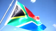 South African Flag video
