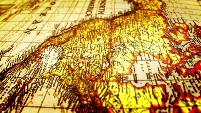 South America-World Map video