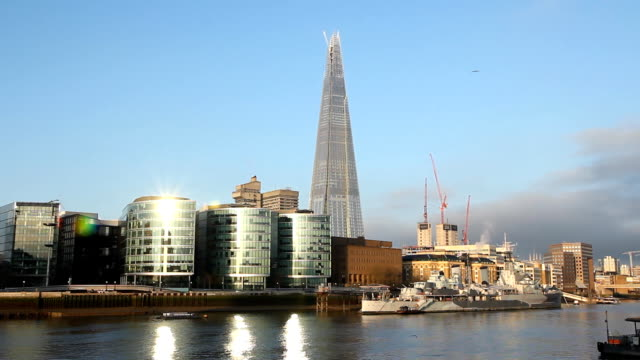 South Bank of the Thames. video