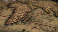 South Fly By of Ancient Map Ortelius video
