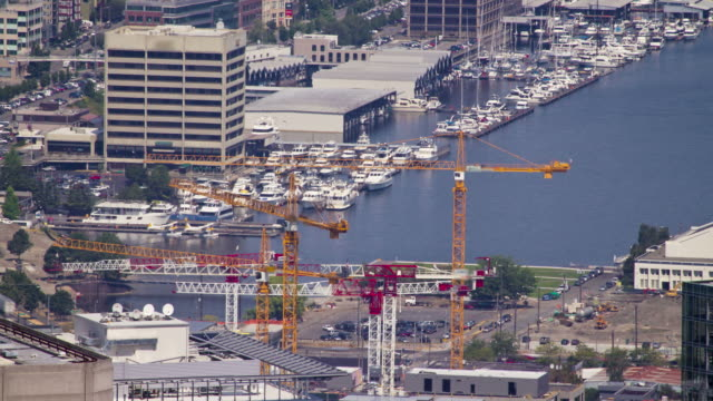 South Lake Union Construction Timelapse 2 video