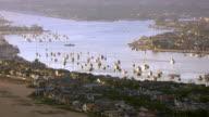 Southern California coast and bay video